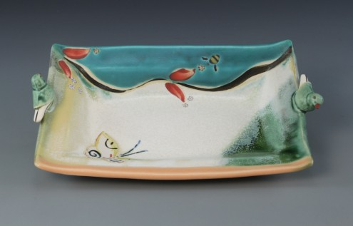 butter tray_porcelain_pottery_ceramics