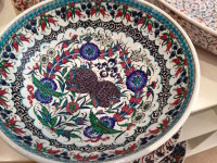 Contemporary Iznik bowl