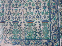 If only the tiles could share the four centuries of palace intrigue and secrets.