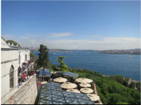 The Sultan's view of the  Bosphorus Strait.